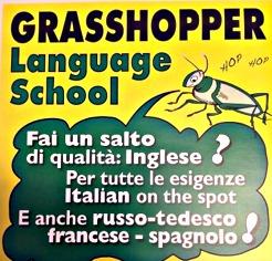 grasshopper rapallo-scuola-lingue